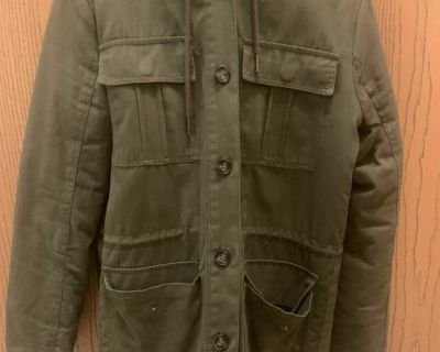 Army green fall/winter coat