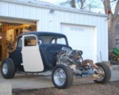 1933 Ford 5-window Coupe Project