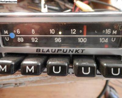 Working Blaupunkt Munster Am/fm radio