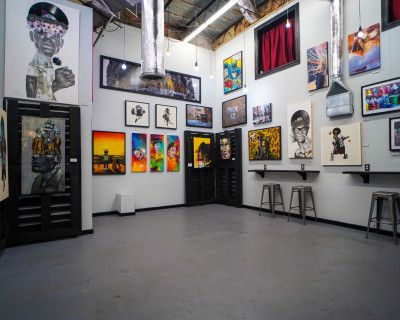 Modern Industrial Arthouse with Custom Artwork and Private Parking, Rockville, MD