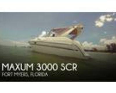 30 foot Maxum 3000 SCR