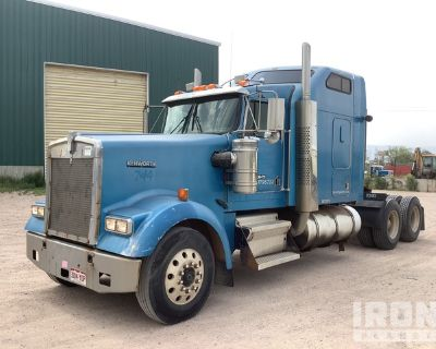 1999 Kenworth W900 6x4 T/A Sleeper Truck Tractor