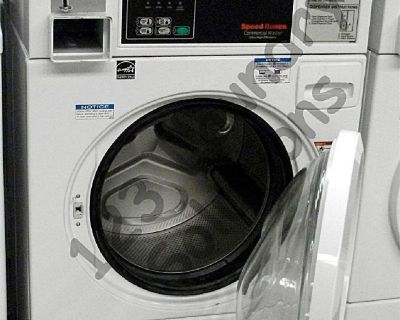 Speed Queen Front Load Washer Coin Op 20LB 3PH 220V SCN020GC2OU1001 Used