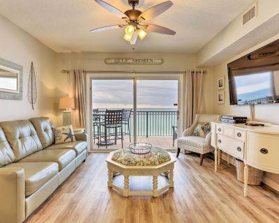 Beachfront Gulf Shores Condo w/Patio & Pool Access - Gulf Shores