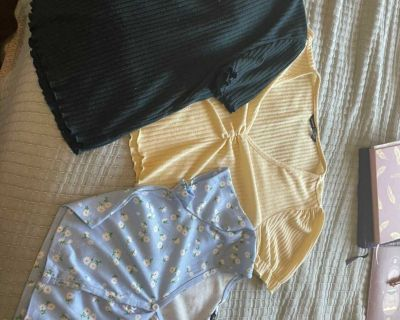 3 shirts from SHEIN in brand new condition. All fit size medium