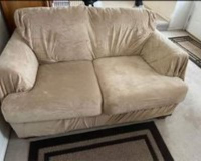 FREE!!! LOVESEAT WITH COVER