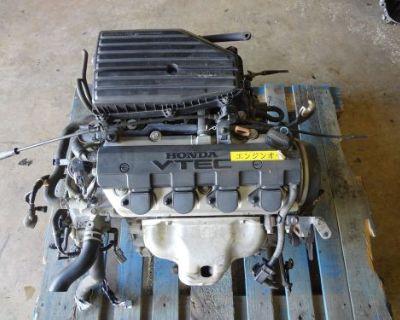 Jdm Honda Civic 2001-2005 Engine D17a 1.7l Sohc Vtec Engine Only