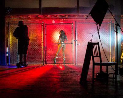 Underground Warehouse Cage