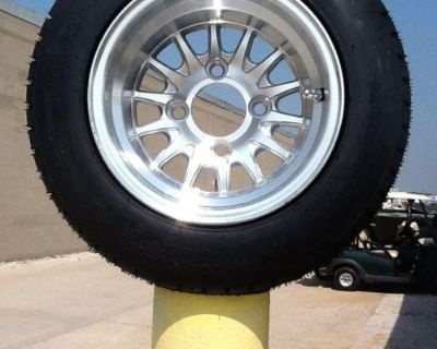 Golf Cart Wheel And Tire Combo Sti Brand Fits Club Car E-z-go Carts