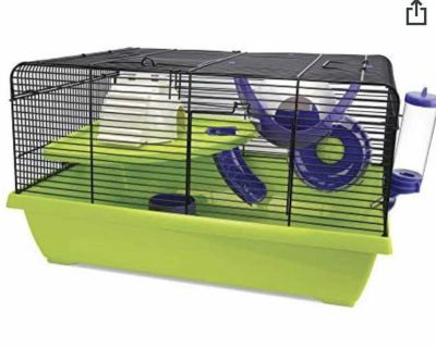 New in box - dwarf hamster cage