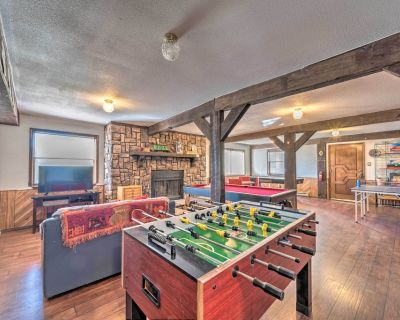 Updated 'Big Chill' w/ Game Room, Deck & MTN Views - Ruidoso