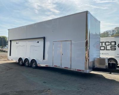 2021 Outlaw Trailers 8.5' X 32' STACKER W/ 26' Dragster Lift