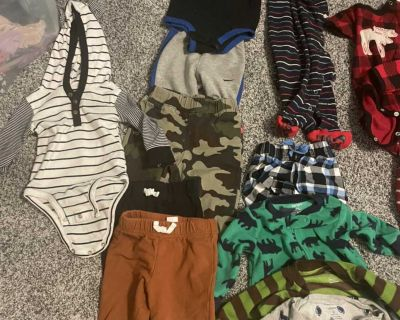 Size 6 months boys brand name clothes