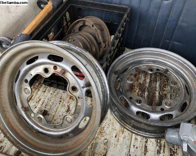 Original Porsche Steel Wheels