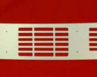 1968-1972 Gm A-body Cowl Vent Grill 1 Pc Clear Anodized