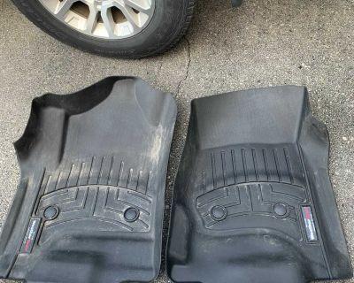 Weather tech front seat floor mats