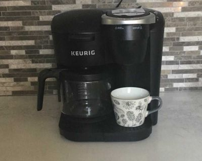 K-Duo Essentials Single Serve and Carafe Coffee Maker