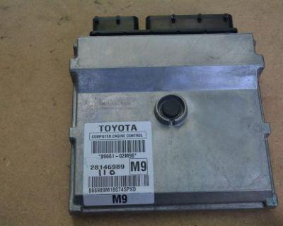 09-10 Toyota Corolla Engine Ecm Ecu Control Module Computer Unit 89661-02m90 Oem