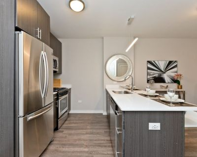 Newly Renovated 1 Bed in Old Town - In-Unit W/D, Balcony, Gorgeous Kitchen and Bath, Rooftop Deck, Pool and Gym
