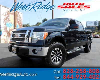 """Used 2009 Ford F-150 4WD SuperCrew 145"""" Lariat"""