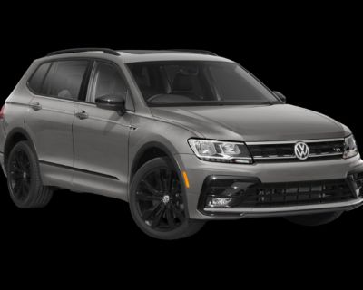 New 2021 Volkswagen Tiguan SE R-Line Black AWD