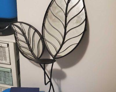 large leaf mirror