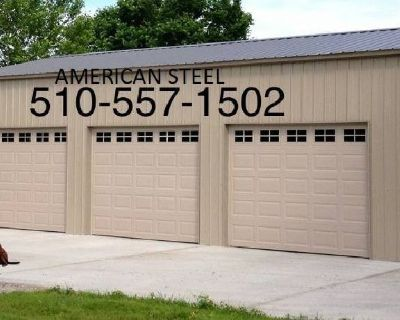 STEEL METAL SHOPS GARAGES AG COVERS RV BOAT COVERS