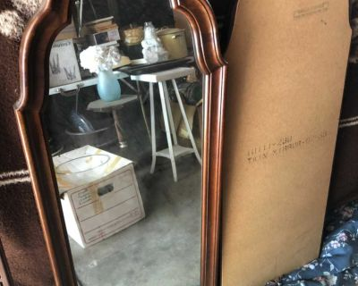 Two wooden Mirrors