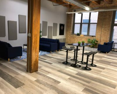 Loft Event Space (Office Space on Weekdays), Chicago, IL