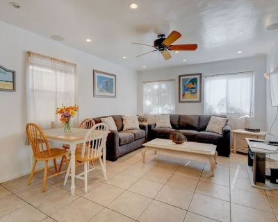 Charming home just 60 steps from the beach & boardwalk! Relax on the nice patio! - Mission Beach