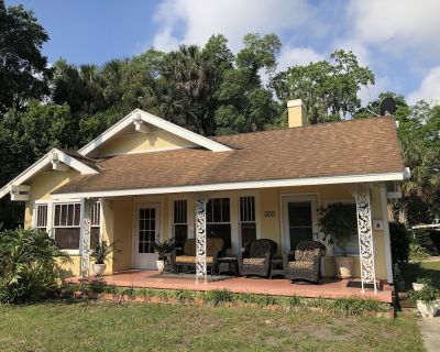View sunrises and Ski Beach launch area front porch rocking chairs! - Leesburg
