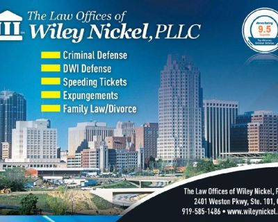 Traffic Lawyer Raleigh NC Fights For Your Rights | Wiley Nickel