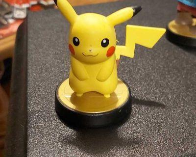 Pikachu Pokemon Amiibo