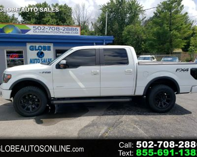 """2013 Ford F-150 4WD SuperCrew 157"""" FX4"""
