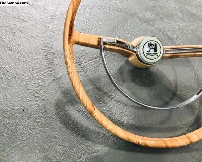 Stylishwheels Steering Wheel White Cedar