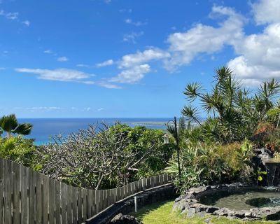 Updated Tranquil Getaway | Plunge Pool, Ping-Pong & Sunset Ocean Views - Kahaluu-Keauhou