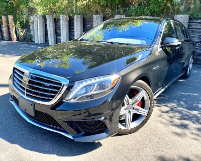 Used 2017 Mercedes-Benz S-Class S63 AMG 4MATIC