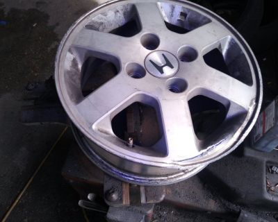 Wheel Rim and Hard to find used tires Great price