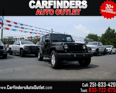 Used 2015 Jeep Wrangler Unlimited 4WD 4dr Sport