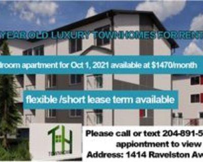 1414 Ravelston Avenue West #8, Winnipeg, MB R3W 1P9 3 Bedroom Apartment