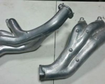 Ford Factory Cast Iron Exhaust Headers - Full Size - High Perf 390 406 427 Fe