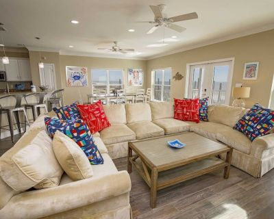 Gulf Front ~ 5 BR ~ Private Pool ~ Sleeps 21 ~ Cookin' Up Fun 1 Beach House - Gulf Shores