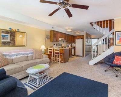 Dog-friendly Townhome w/ a Screened Porch, Fireplace - Close to the Boardwalk! - Ocean City