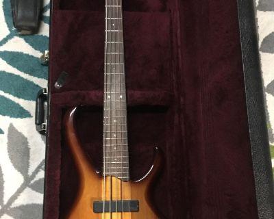 For Sale_ Ibanez BTB575 Bass Guitar