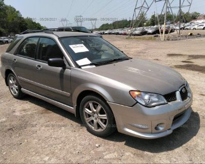 Salvage Gray 2006 Subaru Impreza Wagon