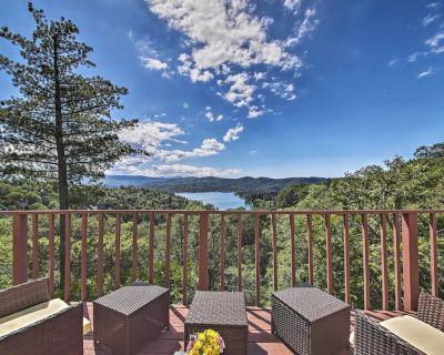 Pet-Friendly Home: Panoramic Mtn & Lake Views, A/C - Lake Arrowhead