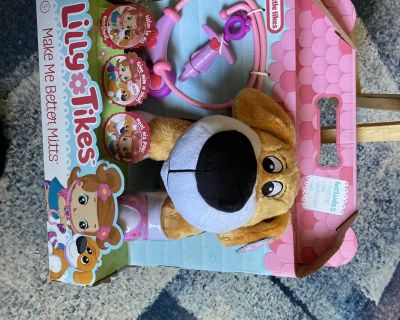 New Make Me Better Mitts Plush Interactive Pet From Lilly Tikes by Little Tikes