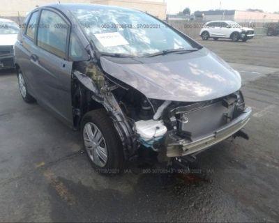 Salvage Gray 2020 Honda Fit