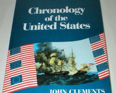 Chronology of the United States - History of Presidents U.S., etc - Hardcover