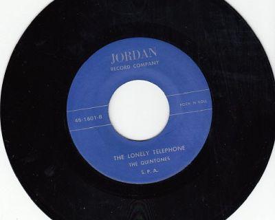 QUINTONES ~ The Lonely Telephone*M-45 !